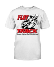 FLAT TRACK Because Anyone can Ride Motocross Kenny Premium Fit Mens Tee thumbnail