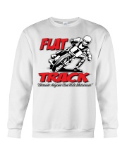FLAT TRACK Because Anyone can Ride Motocross Kenny Crewneck Sweatshirt tile