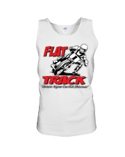 FLAT TRACK Because Anyone can Ride Motocross Kenny Unisex Tank thumbnail