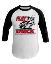 FLAT TRACK Because Anyone can Ride Motocross Kenny Baseball Tee tile