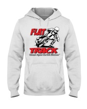FLAT TRACK Because Anyone can Ride Motocross Kenny Hooded Sweatshirt thumbnail