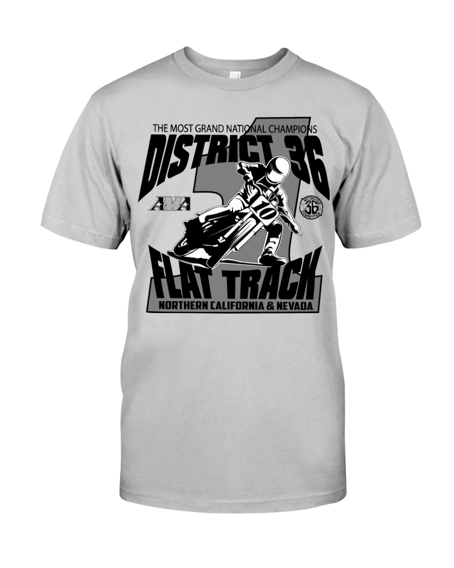 D-36 FLAT TRACK DISTRICT OF CHAMPIONS 2020 LIGHTS Classic T-Shirt