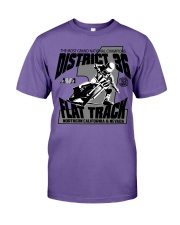 D-36 FLAT TRACK DISTRICT OF CHAMPIONS 2020 LIGHTS Premium Fit Mens Tee thumbnail