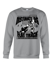 D-36 FLAT TRACK DISTRICT OF CHAMPIONS 2020 LIGHTS Crewneck Sweatshirt thumbnail