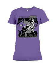 D-36 FLAT TRACK DISTRICT OF CHAMPIONS 2020 LIGHTS Premium Fit Ladies Tee thumbnail