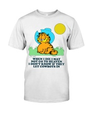 Cowboy shirt2 Classic T-Shirt front