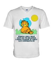 Cowboy shirt2 V-Neck T-Shirt thumbnail