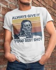 Best Shot shirt Classic T-Shirt apparel-classic-tshirt-lifestyle-26
