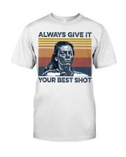 Best Shot shirt Classic T-Shirt front