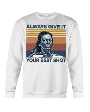 Best Shot shirt Crewneck Sweatshirt thumbnail