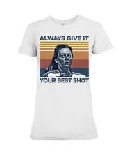 Best Shot shirt Premium Fit Ladies Tee thumbnail