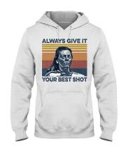 Best Shot shirt Hooded Sweatshirt thumbnail