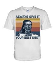 Best Shot shirt V-Neck T-Shirt thumbnail
