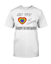 Si Tu M'Aimes Garde Ta Distance Classic T-Shirt thumbnail