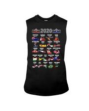 2020 Motor Racing Calendar T-Shirt Sleeveless Tee thumbnail