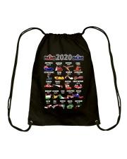 2020 Motor Racing Calendar T-Shirt Drawstring Bag thumbnail