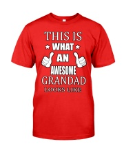 My Awesome Grandad Classic T-Shirt front