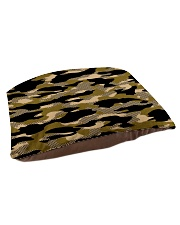 Brown Grid Camouflage Pet Bed - Small thumbnail