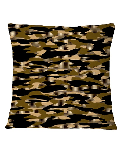 Brown Grid Camouflage