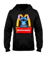 Stitch Loves Mcdonalds Hooded Sweatshirt thumbnail