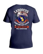 Laborers local 1191 V-Neck T-Shirt thumbnail