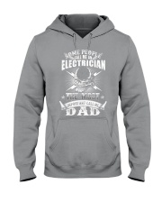 Some people call me an electrician Hooded Sweatshirt thumbnail