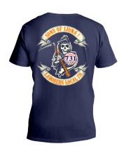 laborers local 731 V-Neck T-Shirt tile