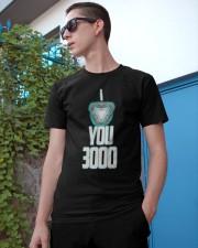 I LOVE YOU 3000 Classic T-Shirt apparel-classic-tshirt-lifestyle-17