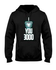 I LOVE YOU 3000 Hooded Sweatshirt thumbnail