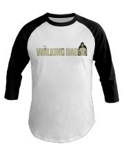 The Walking Dad Baseball Tee front