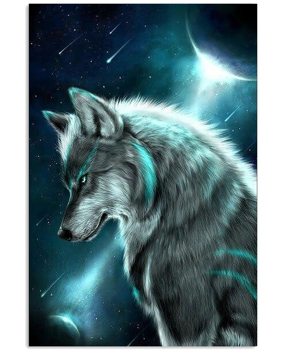 I LOVE WOLF 11x17 Poster
