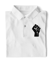 Black Lives Matter Classic Polo front