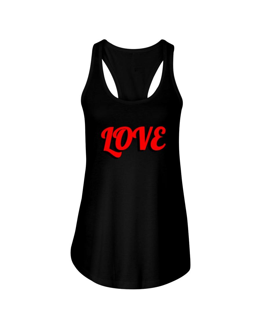 Love  Ladies Flowy Tank
