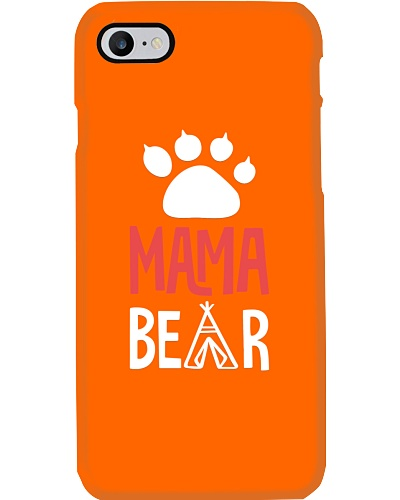 Mother's Day - Mama Bear Iphone's Case