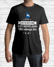 SCOTLAND DNA Classic T-Shirt lifestyle-mens-crewneck-front-1