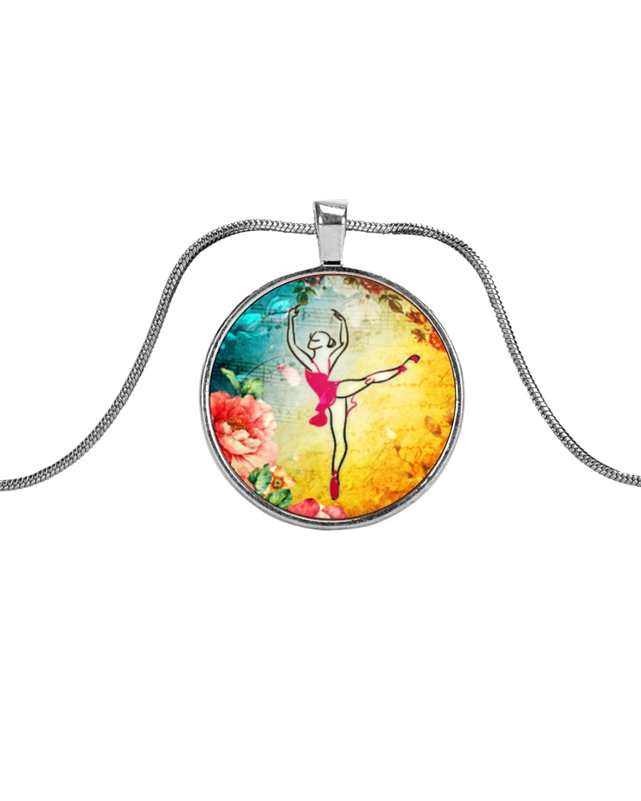 LIMITED EDITION BALLET JEWELRY Metallic Circle Necklace