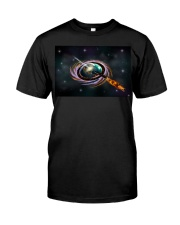 Black Hole Q Ship  Premium Fit Mens Tee thumbnail