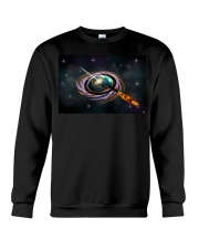 Black Hole Q Ship  Crewneck Sweatshirt thumbnail