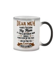 Dear mum Color Changing Mug color-changing-right