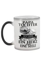 Papa Tochter Color Changing Mug color-changing-left