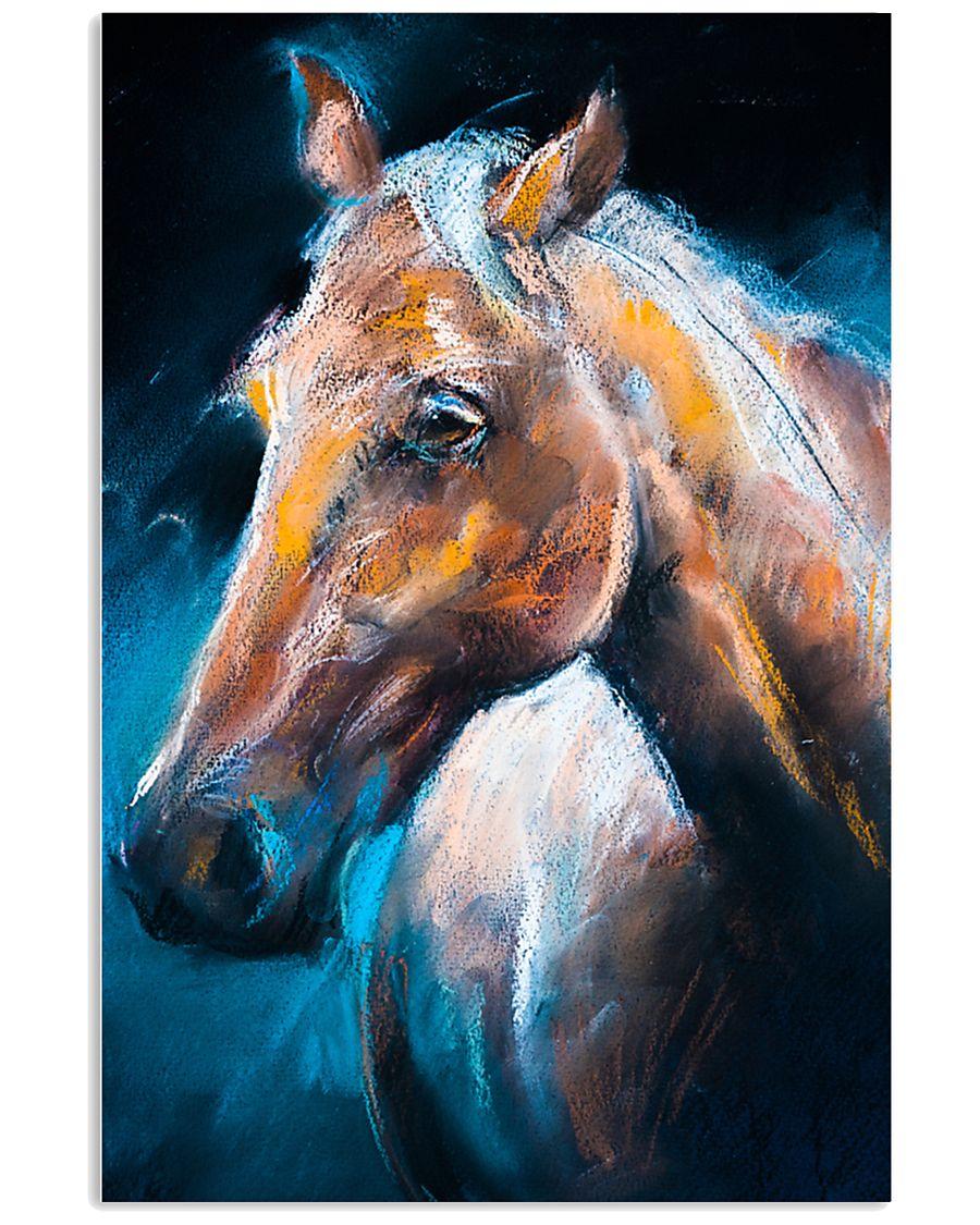 Pferd Malerei 11x17 Poster