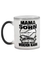 Mama Und Sohn Color Changing Mug color-changing-left