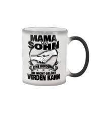 Mama Und Sohn Color Changing Mug color-changing-right