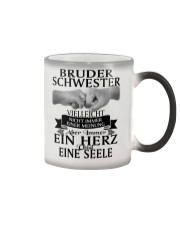 Bruder Schwester Color Changing Mug color-changing-right