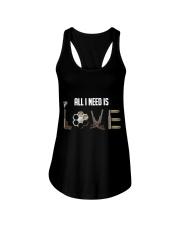 GUNS - all i need is love T Shirt Ladies Flowy Tank thumbnail