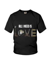 GUNS - all i need is love T Shirt Youth T-Shirt thumbnail
