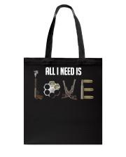 GUNS - all i need is love T Shirt Tote Bag thumbnail