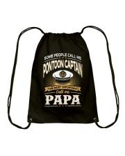 Pontoon Boat Shirt shirt Drawstring Bag thumbnail