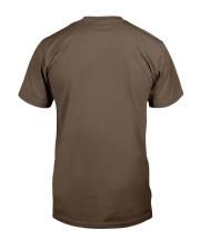 je veux juste un camping car et passer du temps  Classic T-Shirt back