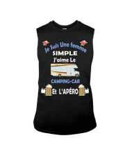 Je Suis Une femme SIMPLE Sleeveless Tee tile